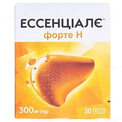 Эссенциале форте Н капсулы по 300 мг №30 (10х3)