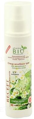 Отвар целебных трав Pharma Bio Laboratory при выпадении и ломкости волос, 200 мл