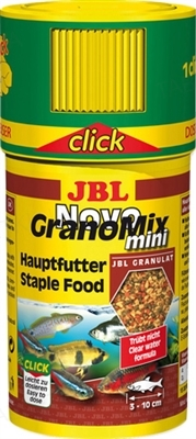 Корм для аквариумных рыб JBL Novo GranoMix mini в гранулах, 100 мл