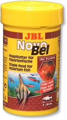 Корм для аквариумных рыб JBL NovoBel Хлопья, 100 мл
