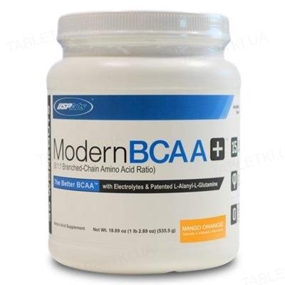 Аминокислота USPlabs Modern BCAA+ Mango orange, 535 г