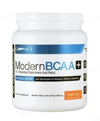 Аминокислота USPlabs Modern BCAA+ peach tea, 535 г