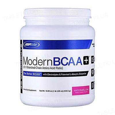 Аминокислота USPlabs Modern BCAA+ Watermelon, 535 г