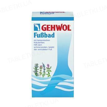 Ванна для уставших ног GEHWOL порошок по 20 г, 10 штук в пакетах