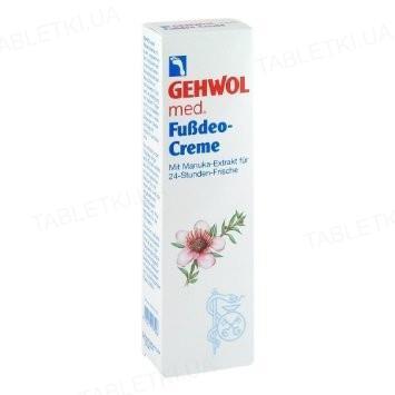 Крем-дезодорант Gehwol Med Fussdeo-creme, 75 мл
