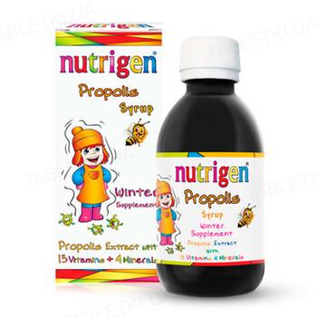 Нутрижен Прополис сироп по 200 мл в бутыл. стекл.