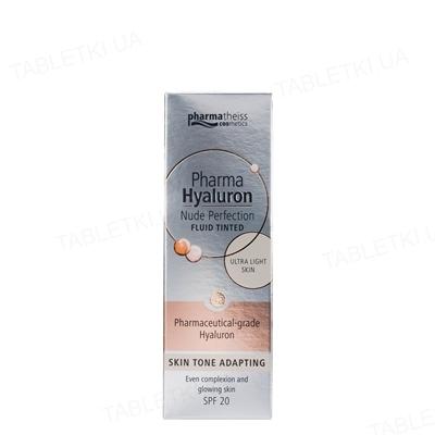 Флюид тонирующий Pharma Hyaluron Nude Perfection очень светлый с SPF 20, 50 мл