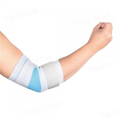 Бандаж для локтевого сустава WellCare 31011 эластичный, с силиконовой вставкой, размер L