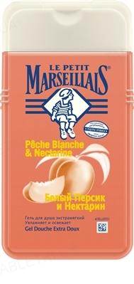 Гель для душа Le Petit Marseillais Белый персик и нектарин экстрамягкий, 250 мл