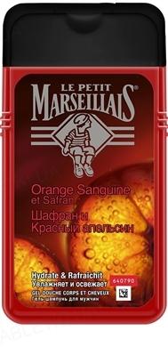 Гель-шампунь Le Petit Marseillais 3в1 Шафран и красный апельсин для мужчин, 250 мл
