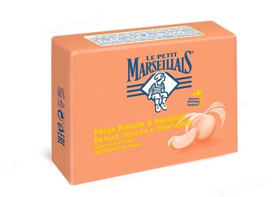 Мыло Le Petit Marseillais Белый персик и нектарин экстрамягкое, 90 г