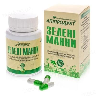 Апипродукт Зеленые манны капсулы №60