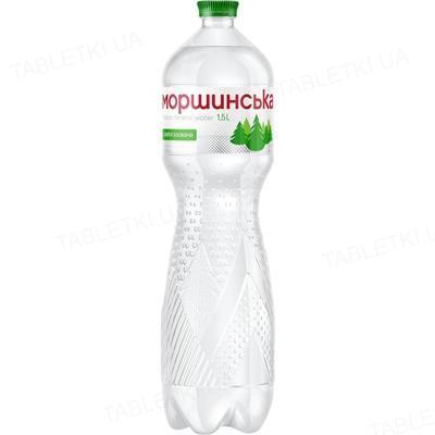 Вода минеральная Моршинская слабогазированная, 1,5 л