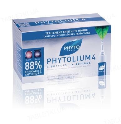 Стимулятор роста волос Phyto Phytolium 4, 12 х 3,5 мл