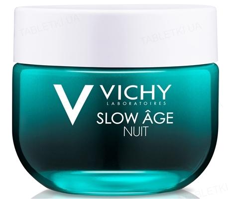 Крем-маска Vichy Slow Age ночная освежающая, для коррекции признаков старения кожи, 50 мл