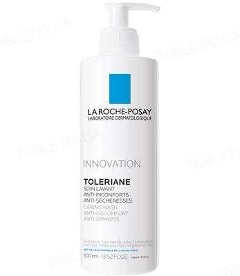 Крем-гель La Roche-Posay Toleriane очищуючий, для чутливої шкіри, зменшуючий відчуття сухості, 400 мл
