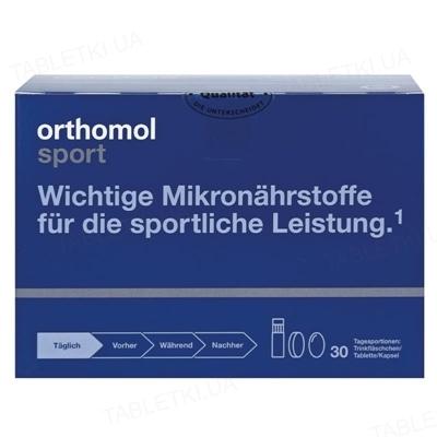 Ортомол Sport Taurin таблетки + флаконы, курс 30 дней