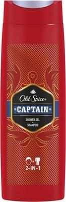Шампунь-гель для душа Old Spice 2-в-1 Captain, 400 мл