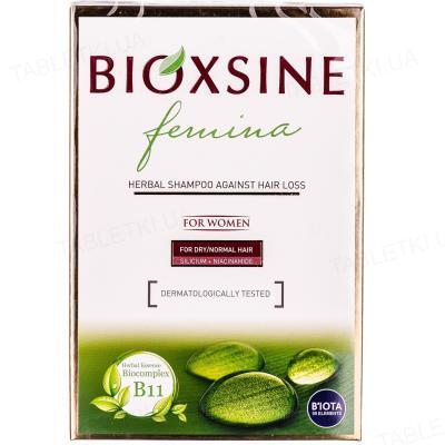 Шампунь Bioxsine Femina против выпадения для сухих и нормальных волос, 300 мл