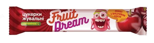 Конфеты жевательные Fruit Dream Вишневый сок + Витамин С, 18 штук