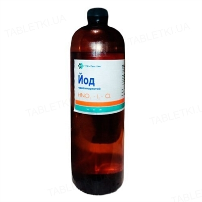 Йод однохлористий 3% (ДЛЯ ТВАРИН), 1 кг