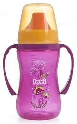 Чашка-непроливайка Lovi Folky, для девочки, 35/330, с 6 месяцев, 250 мл