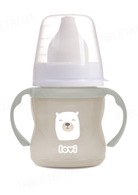 Чашка Lovi Buddy bear, тренировочная, с 6 месяцев, 35/302, 150 мл