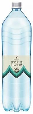 Вода минеральная Поляна Квасова Джерело нации сильногазированная, 1,5 л