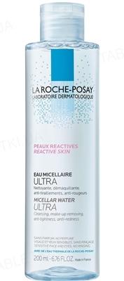 Раствор мицеллярный La Roche-Posay для гиперчувствительной кожи, склонной к покраснению, 200мл