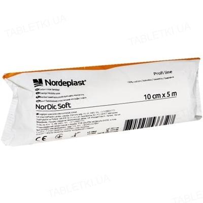Бинт эластичный Nordeplast НорДик Софт хлопчатобумажный 10 см х 5 м