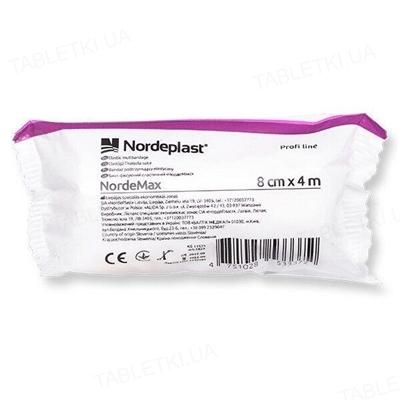 Бинт эластичный Nordeplast НордеМакс фиксирующий 8 см х 4 м
