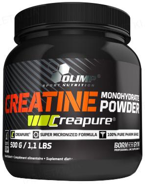 Креатин Olimp Creapure Monohydrate Powder, 500 г