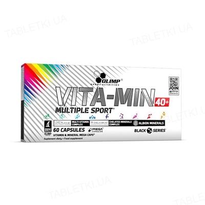 Витамины Olimp Vita-Min Multiple Sport 40+, 60 капсул