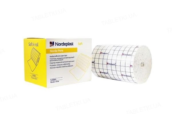Пластырь медицинский Nordeplast НордеПор Софт нетканый, 10 см х 10 м