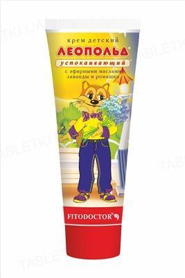 Крем детский Фитодоктор Леопольд, успокаивающий, 75 г