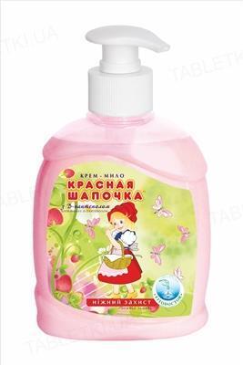 Крем-мыло Фитодоктор Красная шапочка с Д-пантенолом жидкое с дозатором, 300 мл
