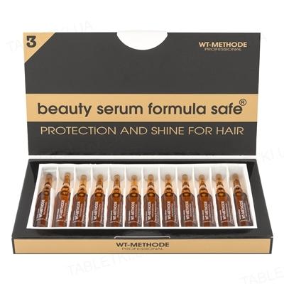 Сыворотка Placen Formula Formula Safe для защиты и блеска волос, 12 ампул по 10 мл