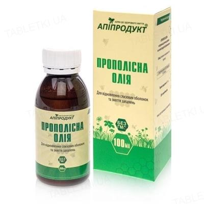 Апипродукт Прополисное масло, 100 мл