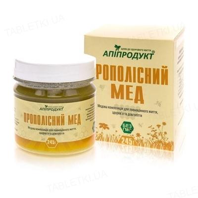 Апипродукт Прополисный мед, 245 г