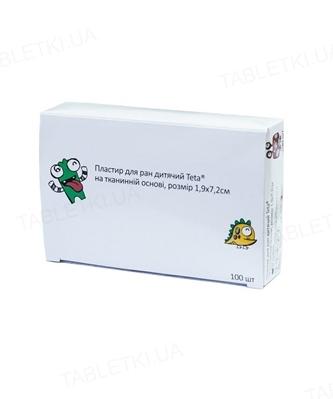 Пластырь бактерицидный Teta на тканевой основе 1,9 см х 7,2 см, 1 штука