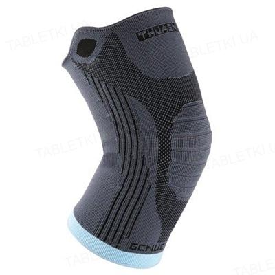 Бандаж на коленный сустав Thuasne Genuextrem 2321 эластичный с боковыми усилителями, размер 4